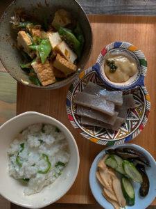 ヴィーガンレシピの和食